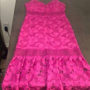 Bright purple/pink dress